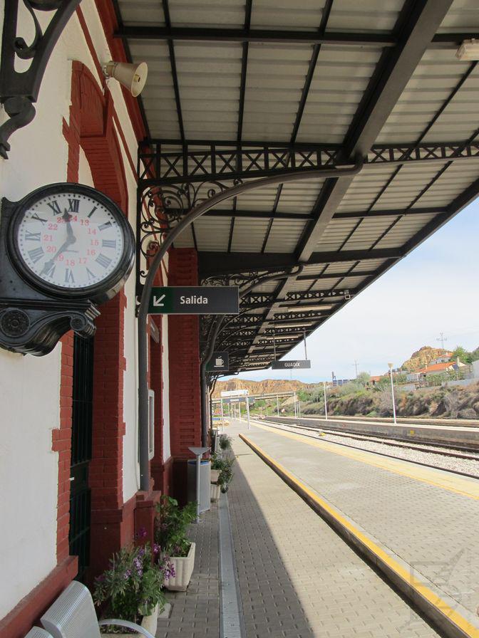 Stacja kolejowa w Guadix