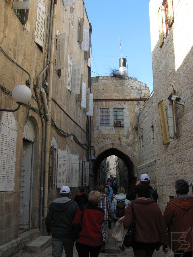 Droga krzyżowa ulicami starego miasta (Jerozolima)