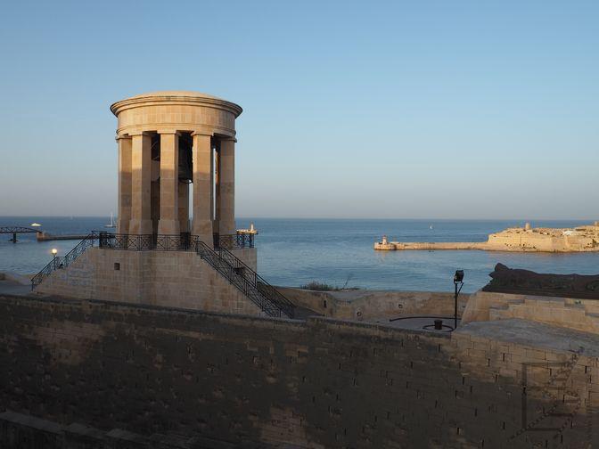 Widok na morze z Valletty