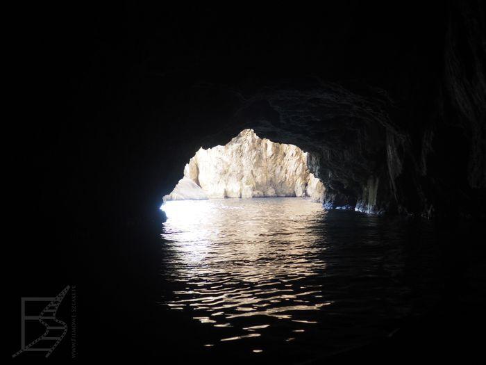 Wewnętrzna jaskinia Groty