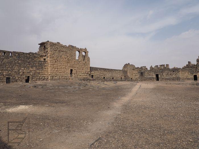 Pustynny zamek Lawrence'a: Qasr al-Azraq