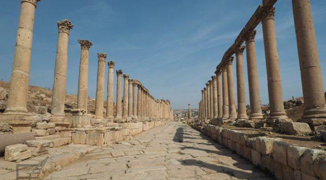 Dżarasz, czyli Gereza, piękne rzymskie ruiny w Jordanii
