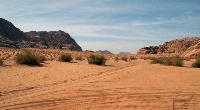 """""""Marsjanin"""" i Wadi Rum"""