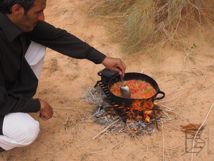 Obiad na pustyni