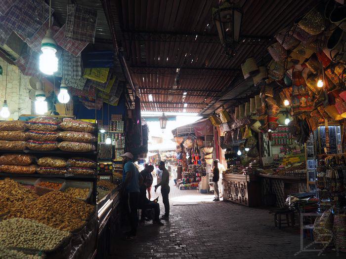 Zaułki medyny (Marrakesz)