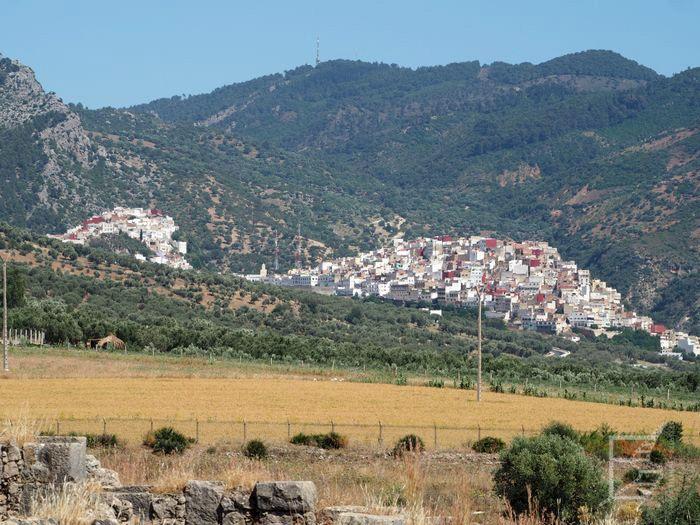 Widok na Moulay Idris