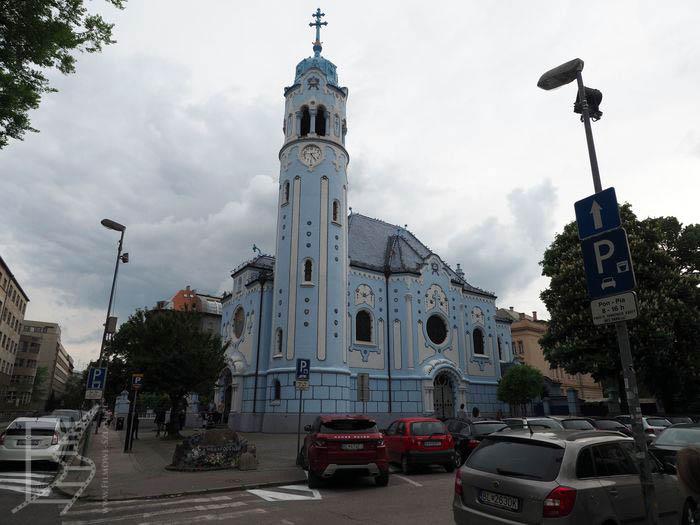 Błękitny kościół