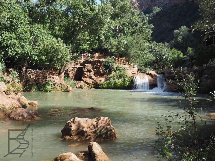 Na samym dole - Wadi Uzud