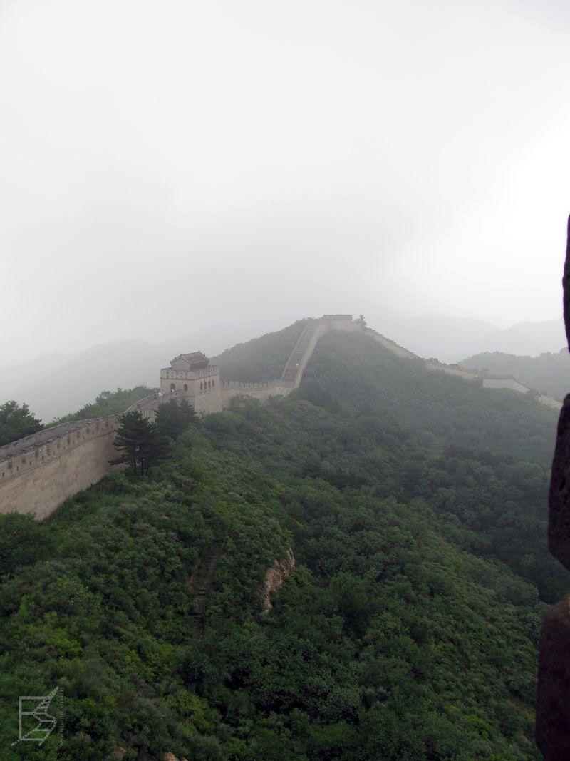 Widok z Muru na dalszą część