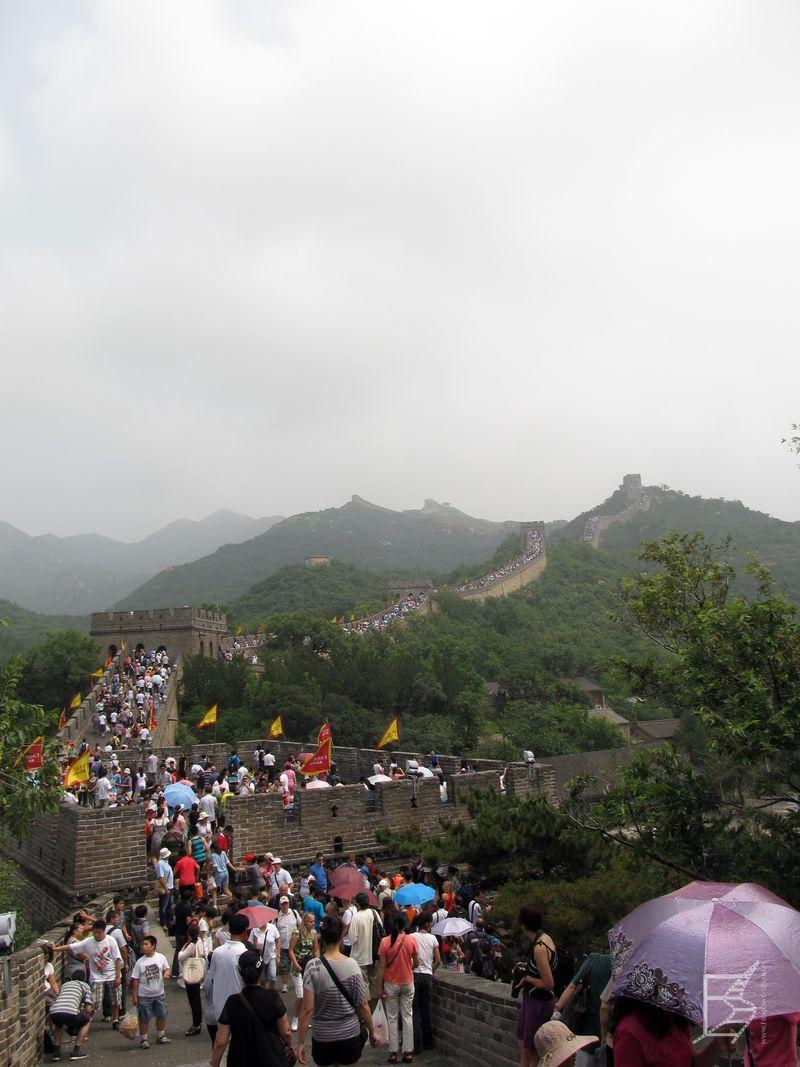 Druga strona medalu, czyli ilość turystów