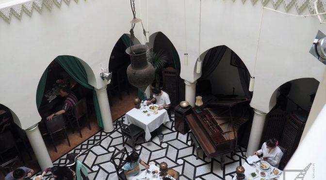 Casablanca i Rick's Cafe