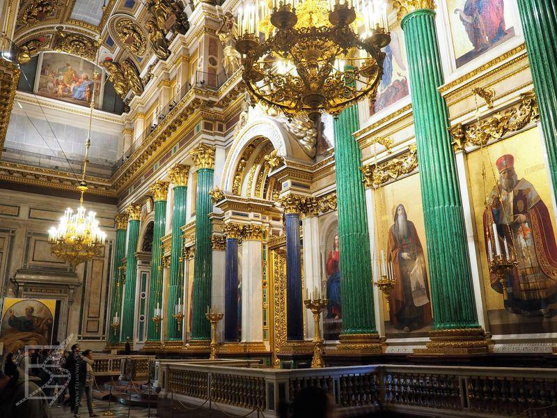 Sobór św. Izaaka od wewnątrz