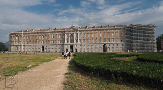 Caserta, pałac królewski Burbonów i królowej Naboo