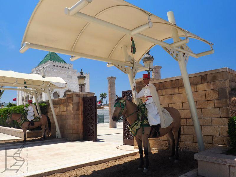 Straż przed Mauzoleum (Rabat)