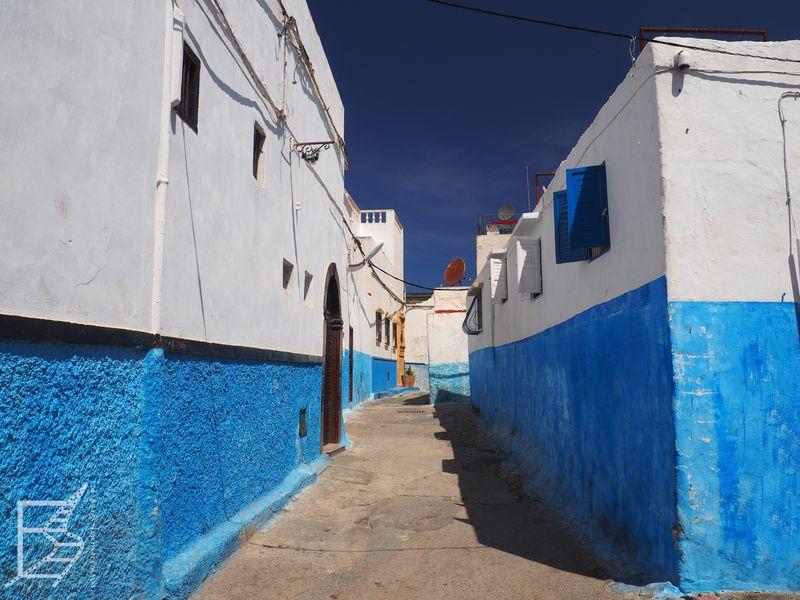 Charakterystycznie malowane domy (Rabat)