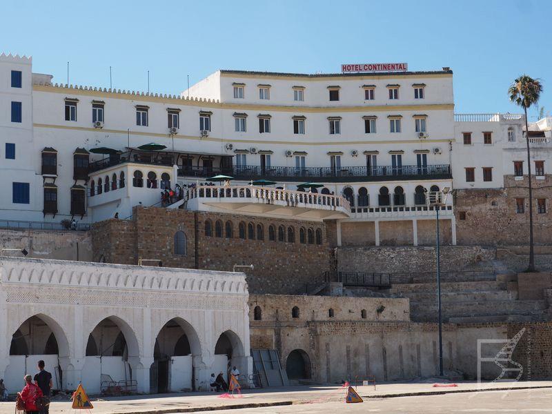 Hotel Continental, jeden z bardziej charakterystycznych punktów miasta