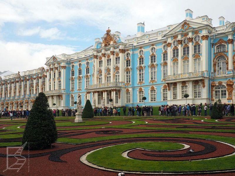 Główny pałac w Carskim Siole