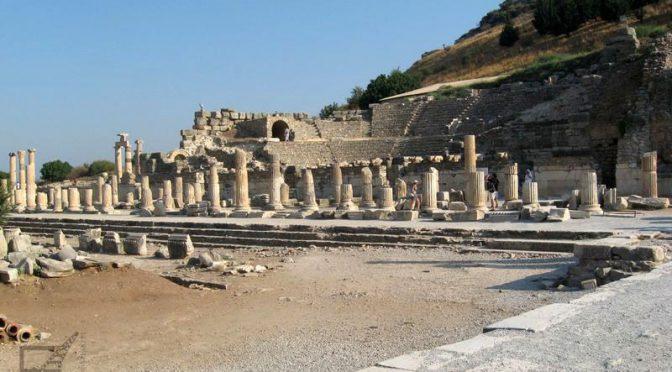 Efez, ruiny antycznego miasta w Turcji