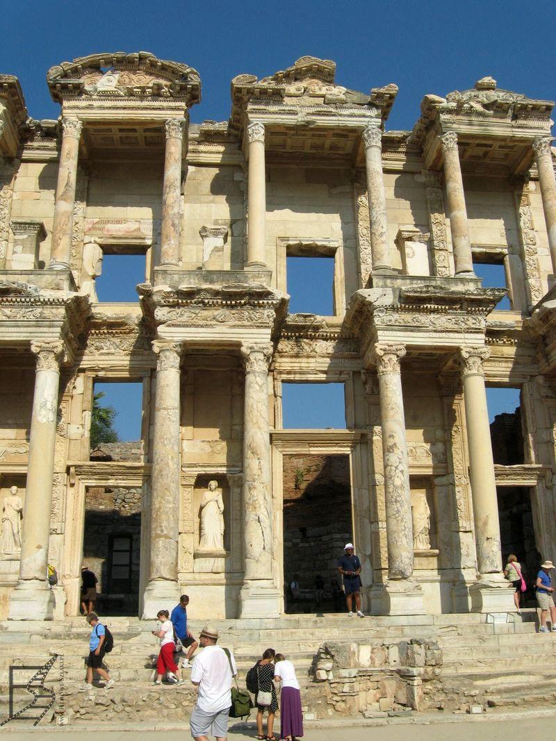 Fasada biblioteki Celsusa