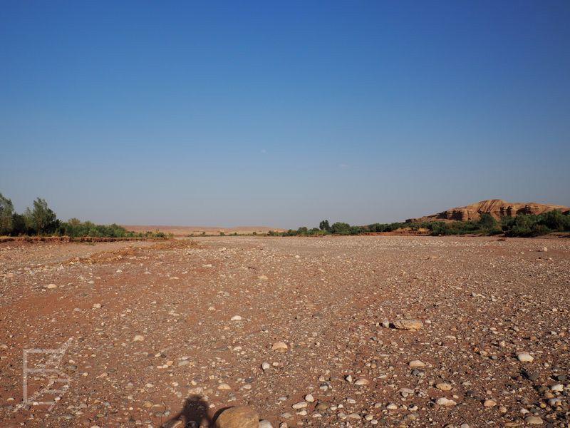 W Grze o tron wykorzystano także koryto rzeki, akurat wtedy nie było tak wyschnięte