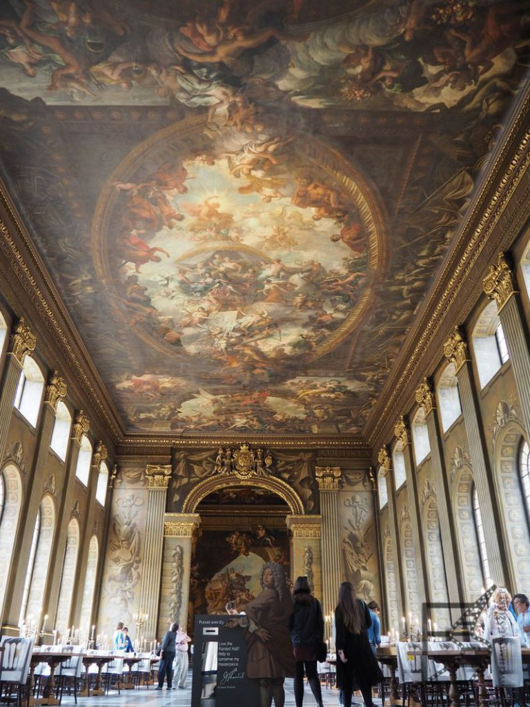 Greenwich w Piratach z Karaibów, czyli Painted Hall