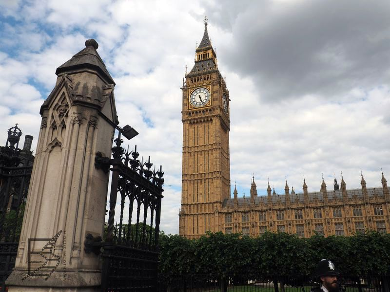 Big Ben i budynek parlamentu