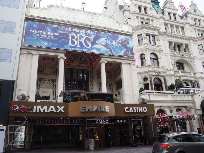 Leicester Square i słynne kina