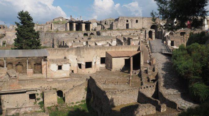 Pompeje, miasto zniszczone przez Wezuwiusza