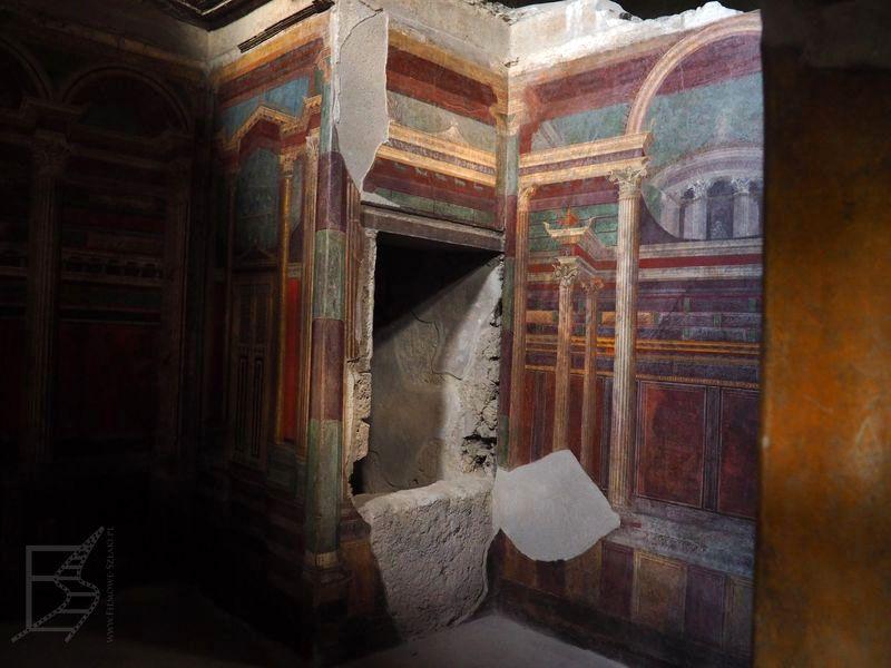 Pompeje: zachowane malowania ścian