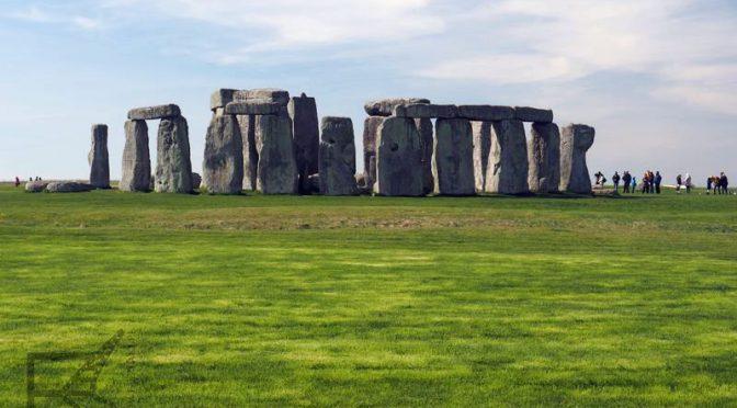 Stonehenge, angielski, kamienny krąg z neolitu