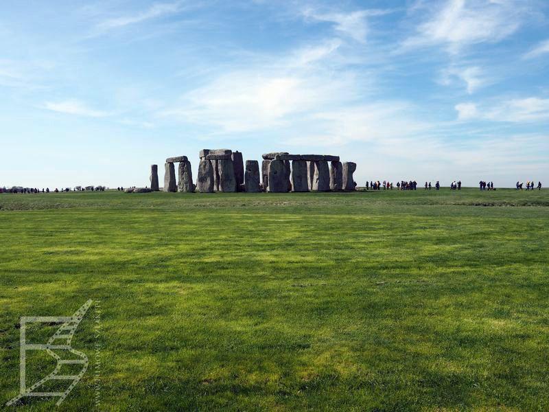 Stonehenge z daleka