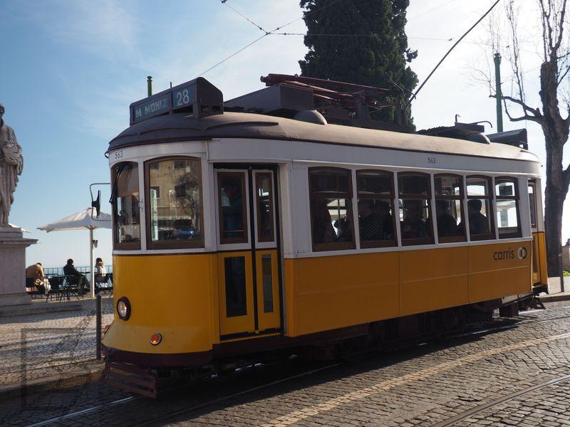Słynny tramwaj 28 (Lizbona)