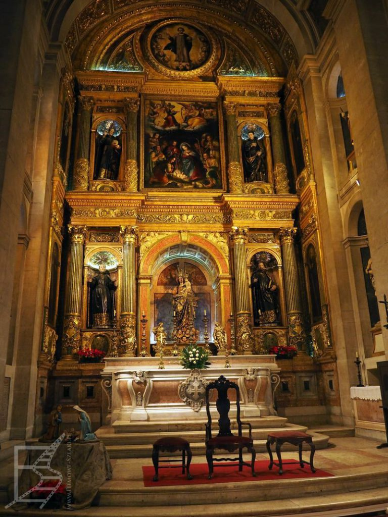 Wnętrza kościoła św. Rocha