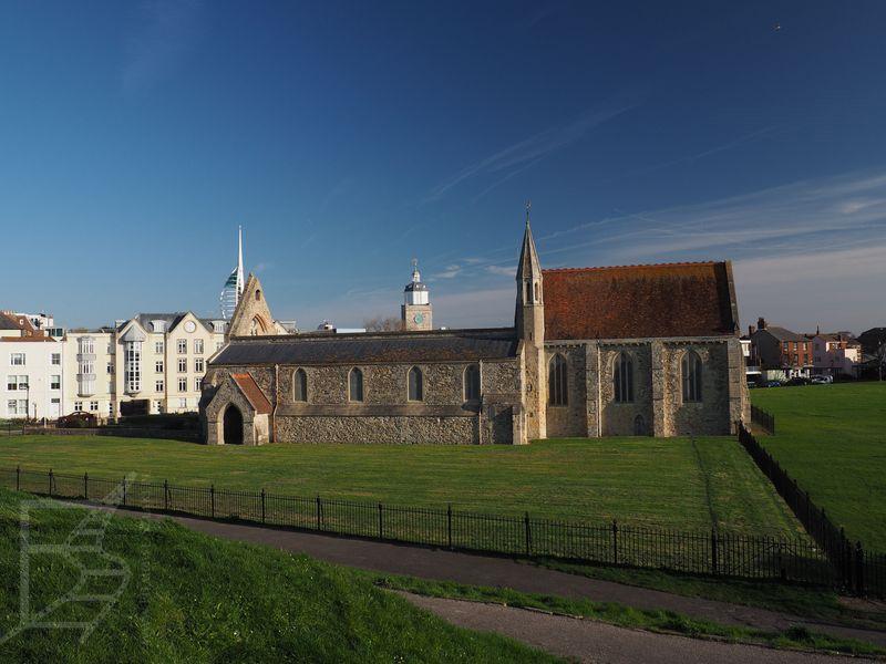 Pozostałości kościoła przy bastionie