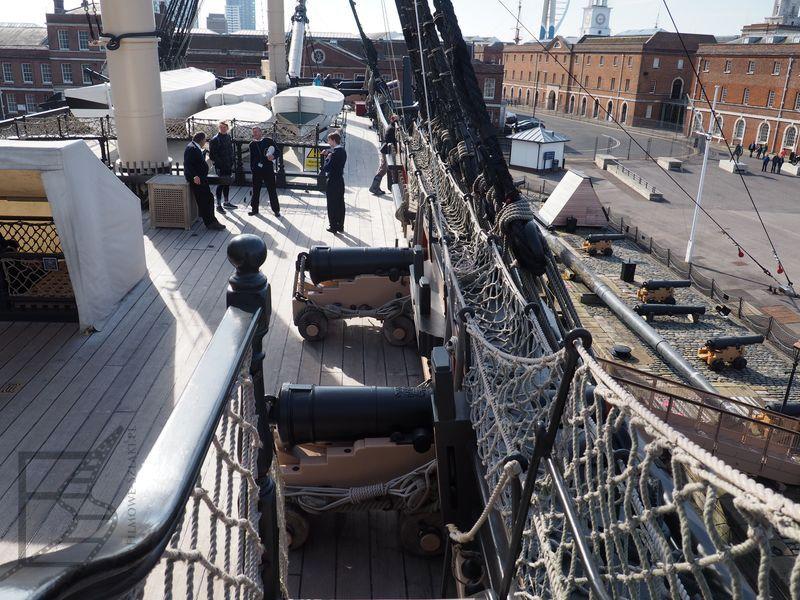 Pokład HMS Victory