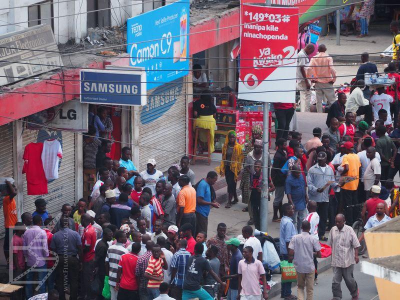 Ulica w Dar Es Salaam