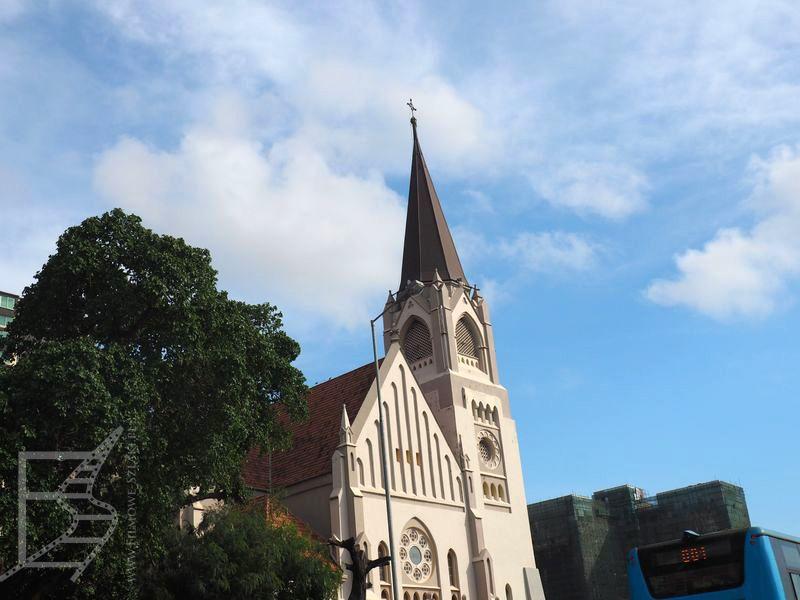 Kościół blisko portu w Dar Es Salaam