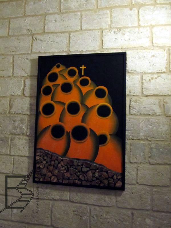 Obraz w kościele w Kannie