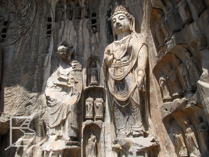 Wielkie rzeźby w Longmen