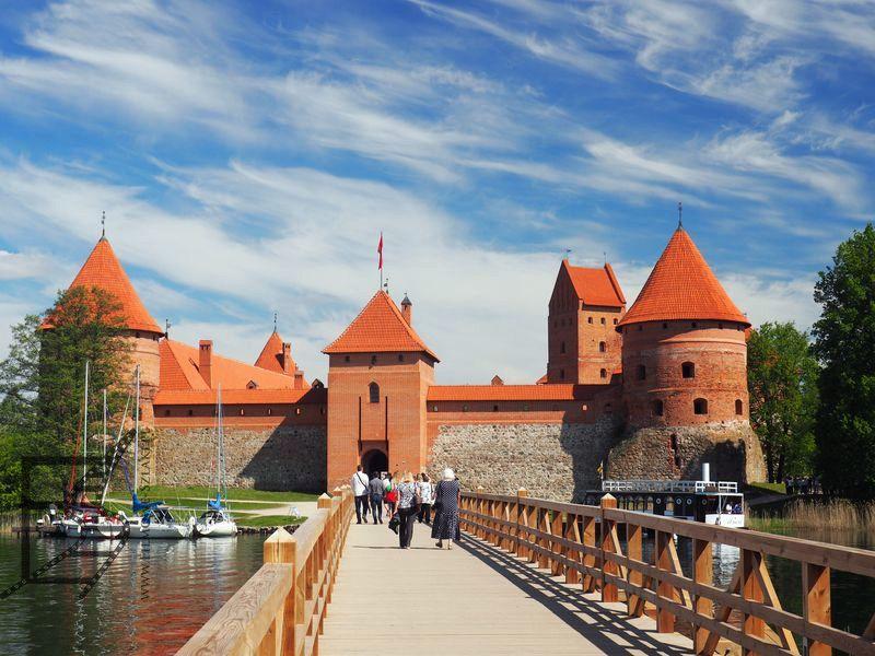 Zamek we Trokach