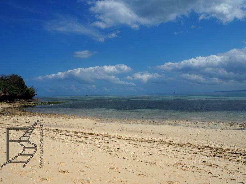 Plaża na Changuu (Prison Island)