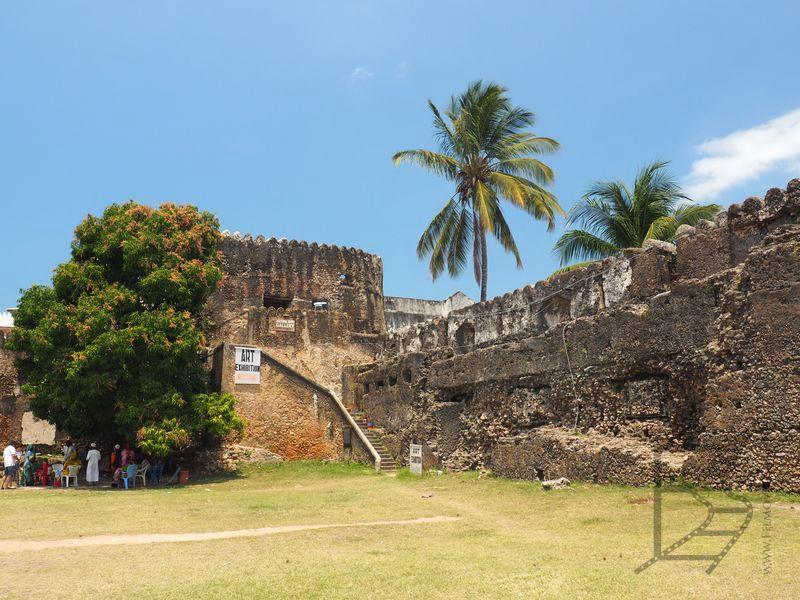 Pozostałości po fortecy