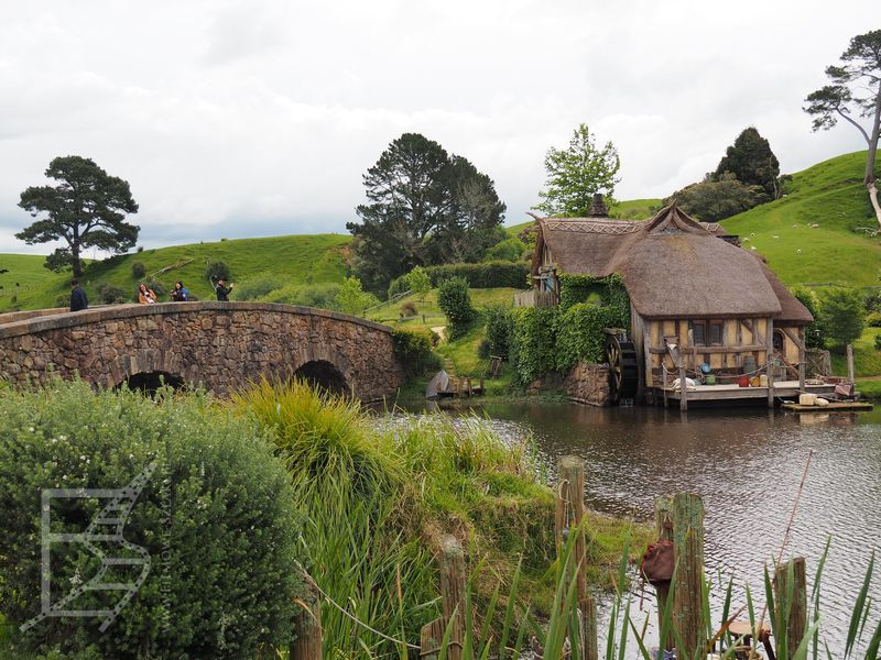 Most i młyn