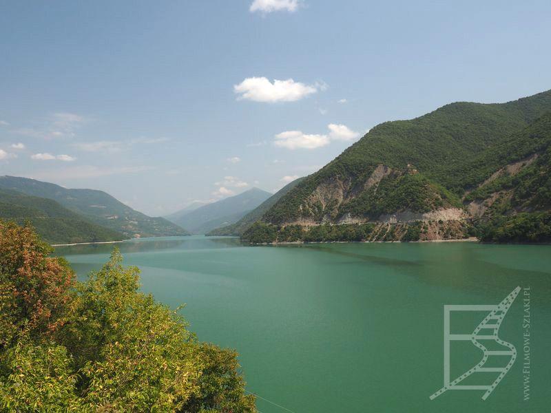 Zbiornik Żinwalski - Gruzińska Droga Wojenna