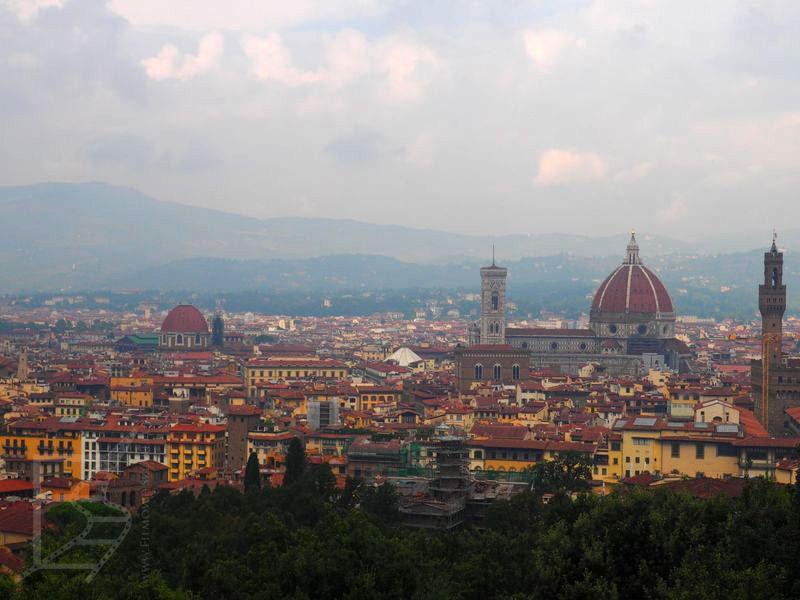Widok na Florencję, wspominany przez Lectera (z Forte Di Belvedere)