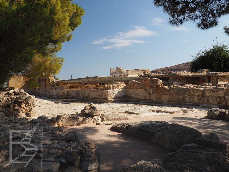 Stanowisko archeologiczne w Knossos