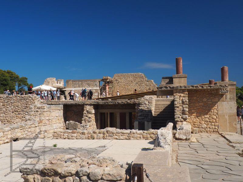 Pozostałości dawnego pałacu