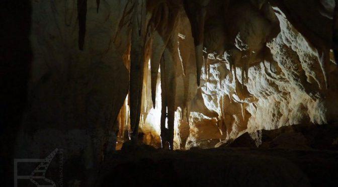 Waitomo Glowworm Cave, jaskinia Ruakuri i świecące robaki