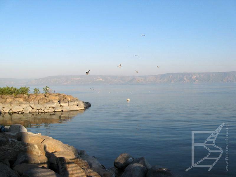 Widok na jezioro Tyberiadzkie