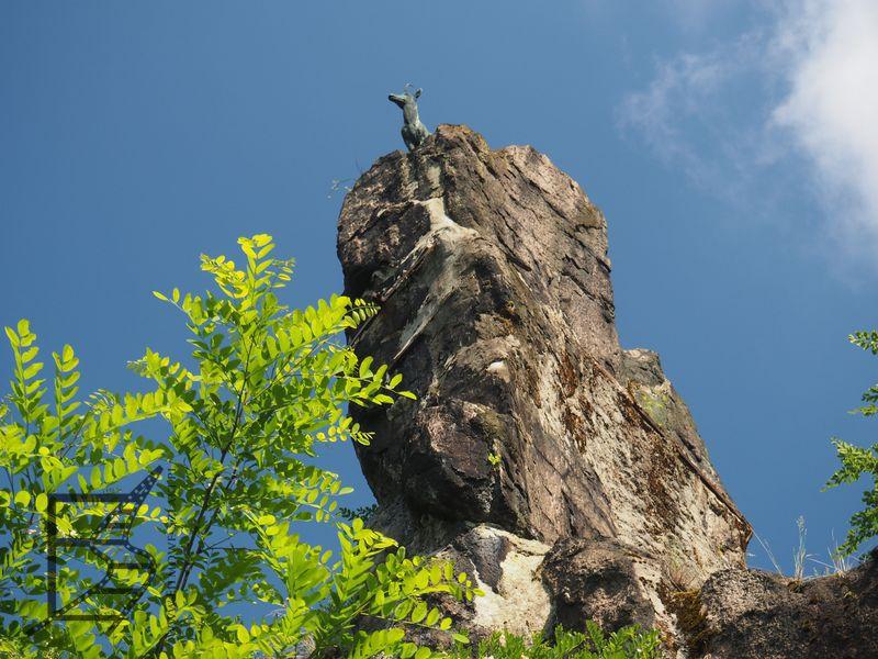 Jeleni skok - kolejna inspiracja dla Grant Budapest Hotel